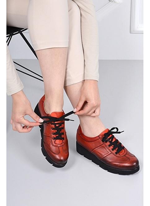 G.Ö.N. Hakiki Deri Ayakkabı Renkli